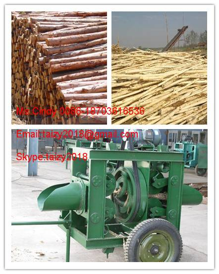 Good feedback wood peeling machine/wood debarker with low price 0086-18703616536