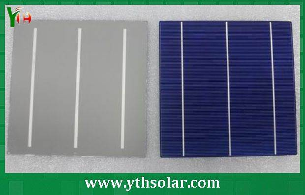 Made in Taiwan products 6 inch polycrystalline solar cell with high efficiency and competitive price