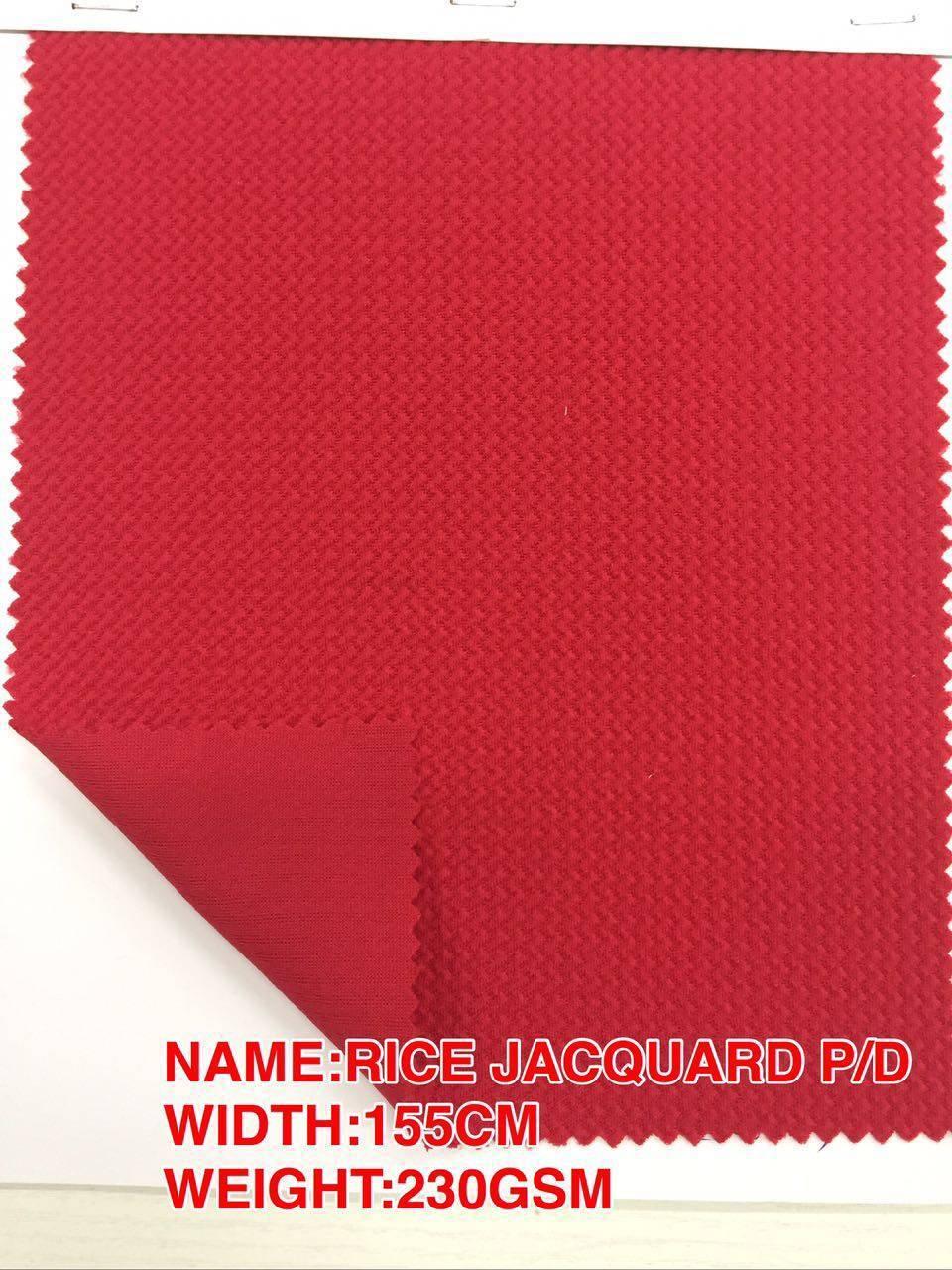 RICE JACQUARD P/D