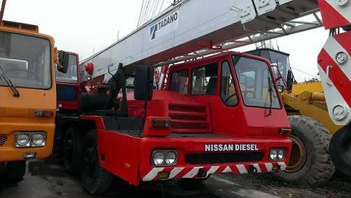 Used TADANO TG-350E Fully Hydraulic Truck Crane