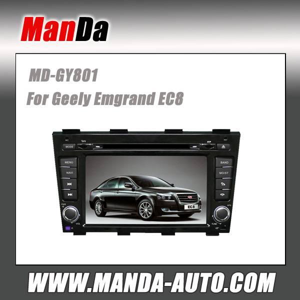Manda 2 din car dvd for Geely Emgrand EC8 car dvd gps navigation indash head units multimedia syste