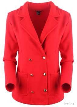 Women Branded Knitted Jacket Stock From China
