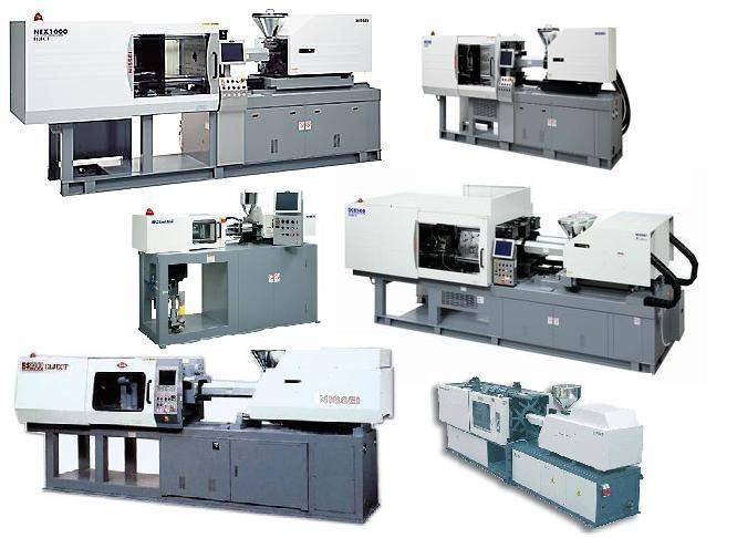 Used plastic injection molding machines from Japan