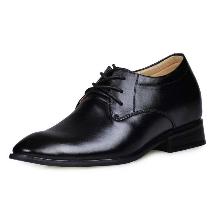 Height increase elevator Oxfords shoes for gentlemen get high 7CM