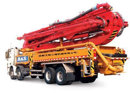 sell truck mounted concrete pumps