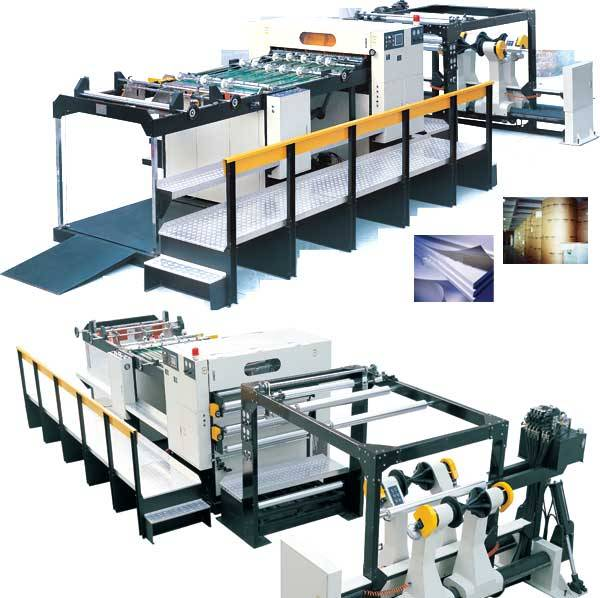 cut-size web sheeter/folio sheeter/paper cutter/sheeting machine
