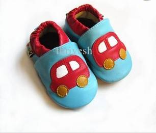 Baby shoes Antiskid shoes infant boy leather shoes