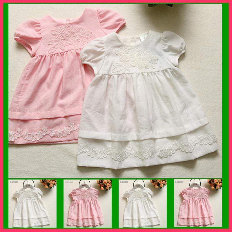 Children clothes baby birthday one piece dress daily wear summer girl dress