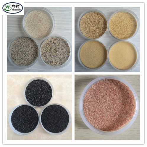Bulk Natural Colored sand for wholesale for epoxy floor