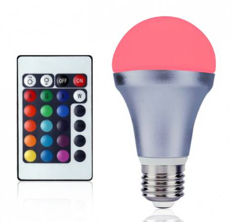 color changing 4.2W/E27 LED Mood Bulb Lights