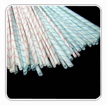 2715- Fiberglass sleeving coated with polyvinyl chloride resin