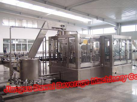 Hot Juice Filling Machine(Monobloc 3-IN-1)