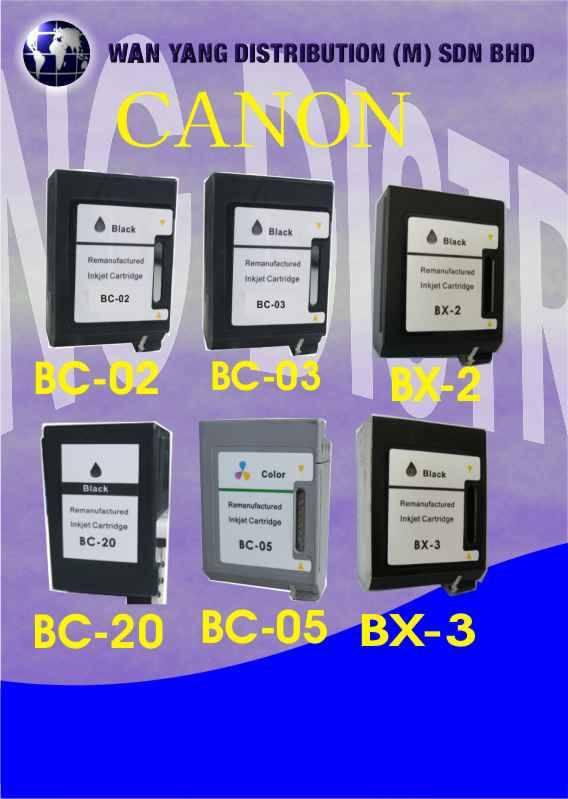 Canon Compatible Inkjet Cartridge BC-02, BC-05
