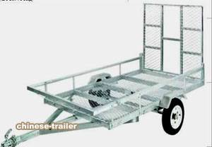 ATV trailer galvanized