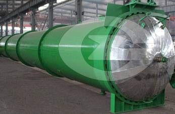 Automatic hydraulic-opening Autoclave