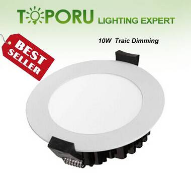 Traic dimming IP44 10W Samsung LED Down light