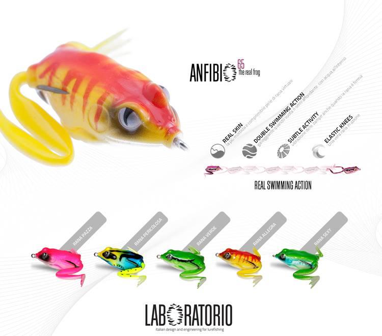 laboratorio fishing frog, soft bait