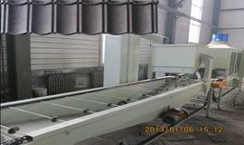stone coated steel chip tile production line