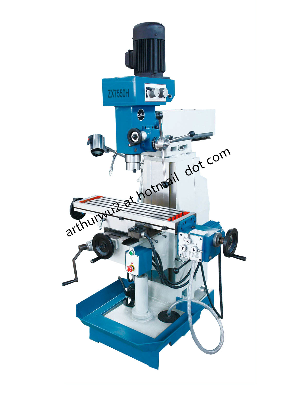 ZX7550H Drilling and Milling Machine