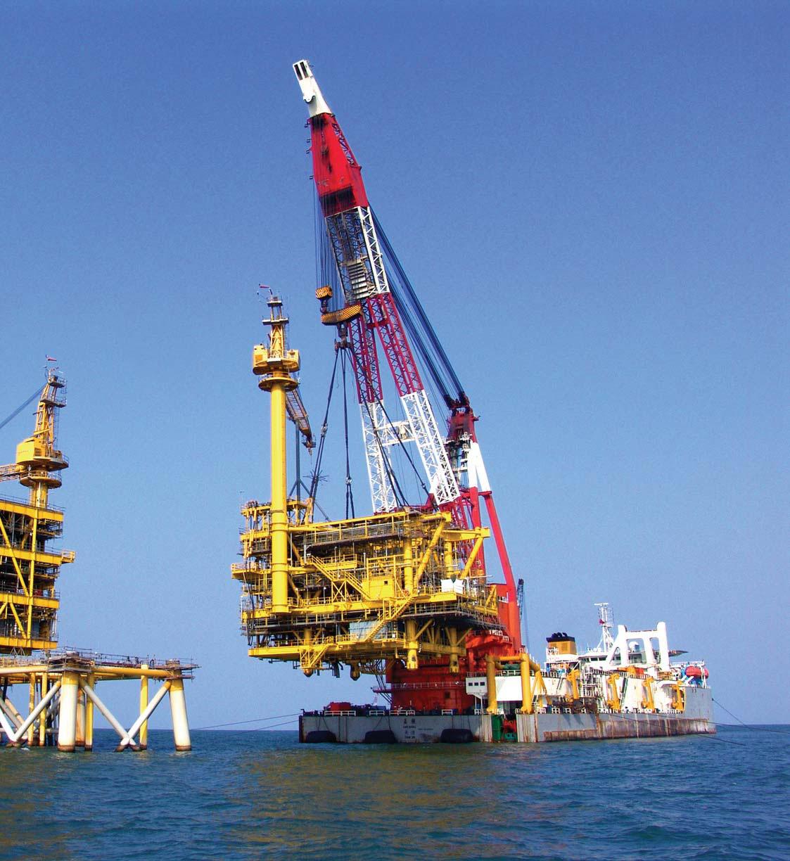 cheapest floating crane 100t to 5000t crane barge crane vessel
