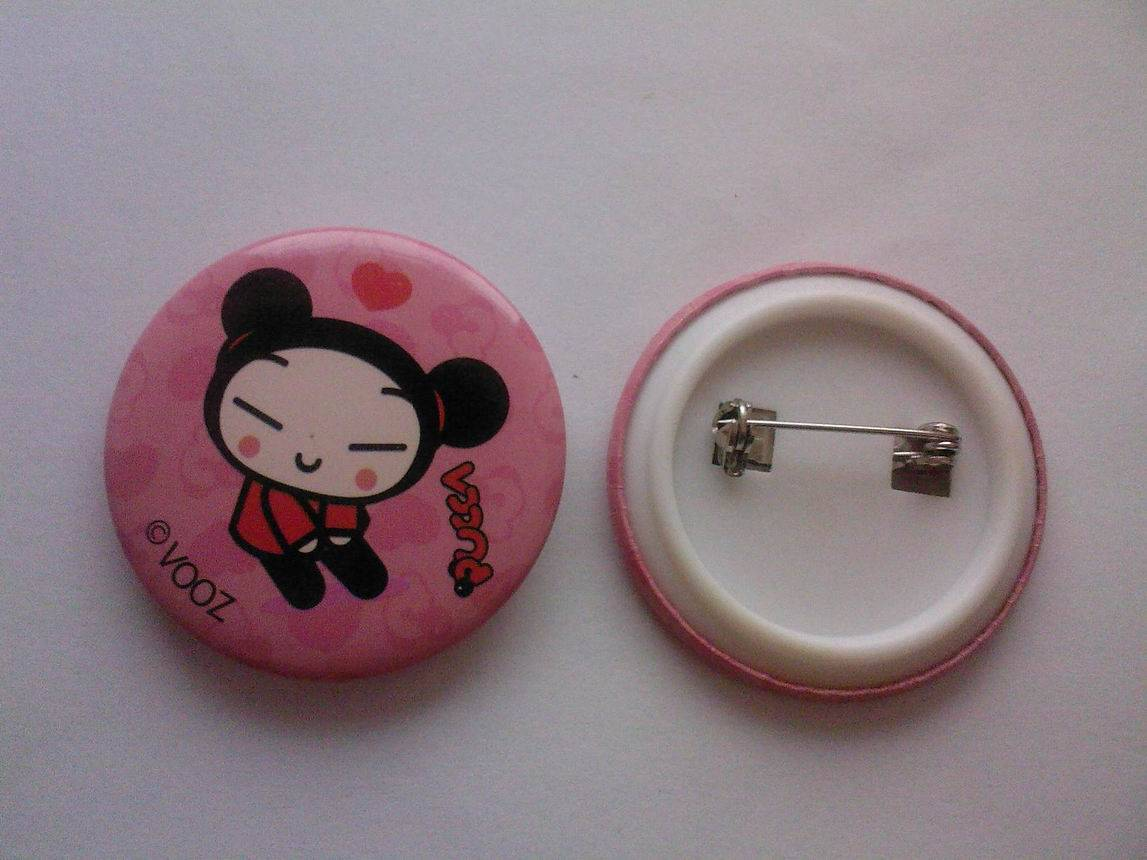 Boobs pins and buttons