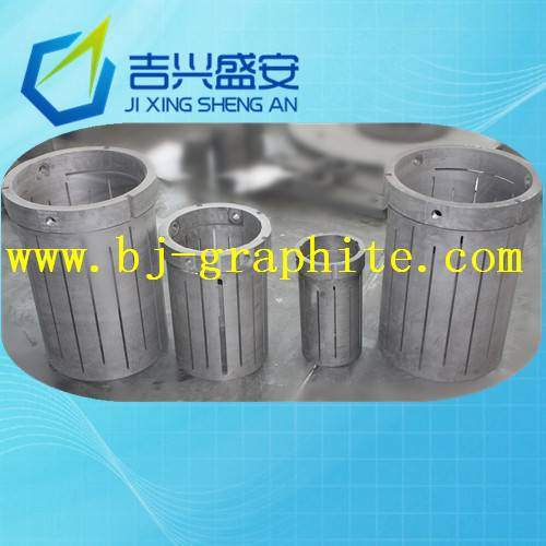 Vacuum furnace graphite heater / heating element