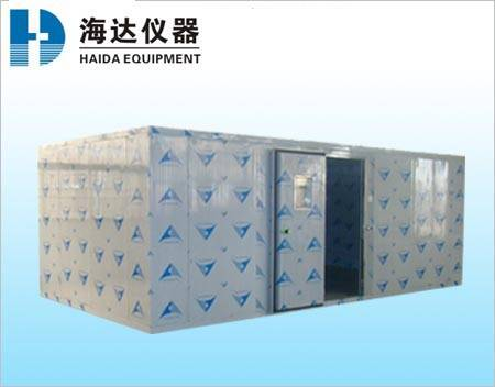 Walk-in climatic test chamber roon