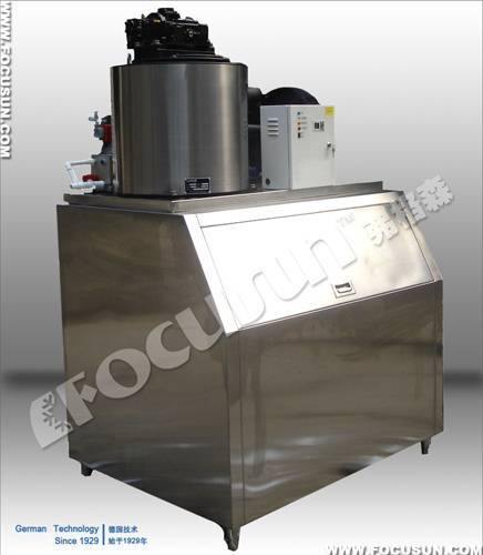 2011 new automatic flake ice machine, stainless and matchless 10 ton/24hours