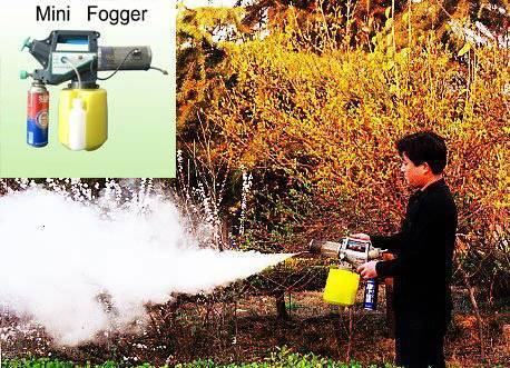 disinfection fogger OR-F01 with butane gas