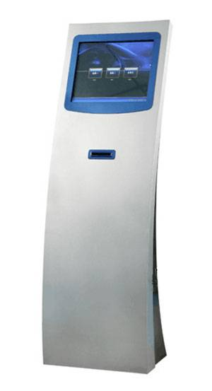 17 inch Touch Screen Ticket Dispenser Kiosk For Bank Queue System SX-Q173