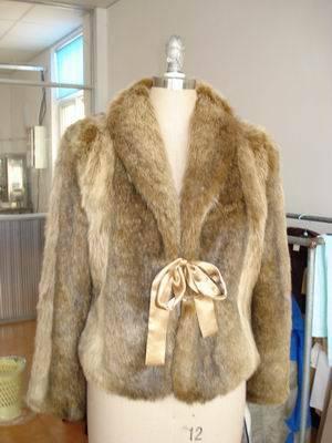 lady's fashion coat-007