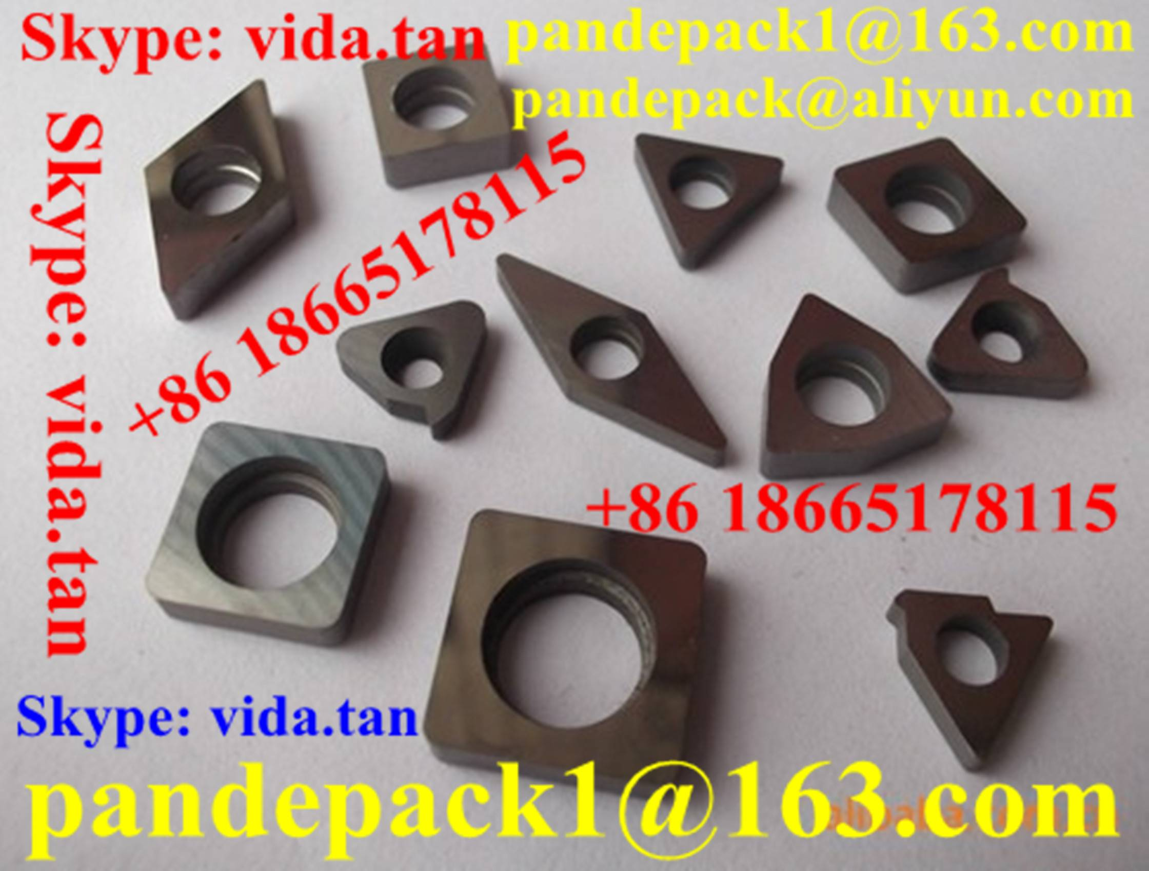 Alloy Insert Shim for CNC Lathe Tool/Blade Shim/CNC Lathe Tool Parts/Accessories/CNC Tool Parts/Tool