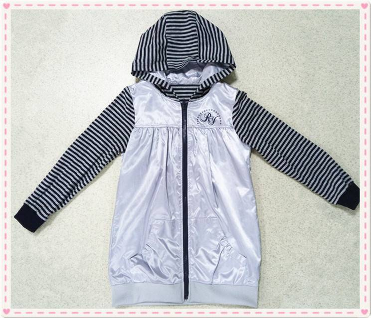 New design 2016 girl's waterproof softshell jacket