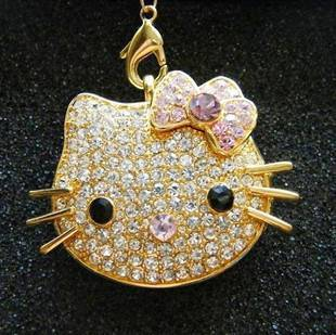 Helllo Kitty USB Flash drive (Crystal)