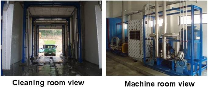 AUTOMATED CAR WASH SYSTEM FOR LARGE VEHICLES