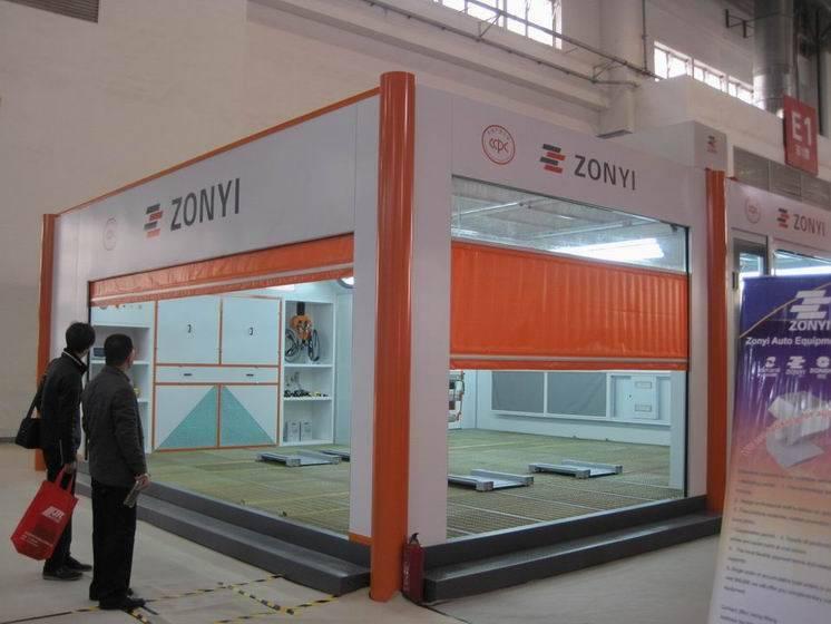 ZD-C800 Spray booth(CSA, ISO, ETL, CE),car painting booth