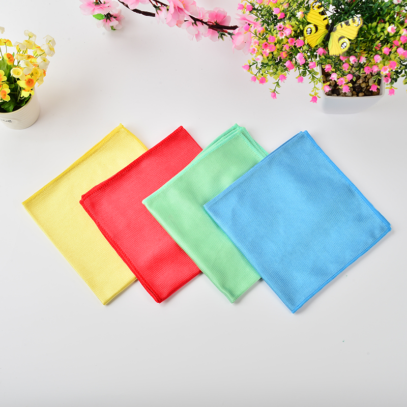 Microfiber Glass Cleaning Towel Polishing Cloth Window Cleaning Cloth