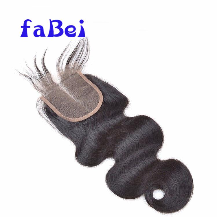 Unprocessed Hair Wholesale Last For Long Virgin Hair Closure Piece 44 Deep Wave Lace Closure
