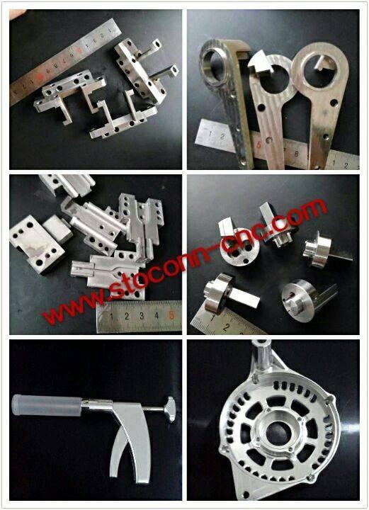 custom made cnc machined/machining/machine aluminum 6061/7075/5052 parts/part