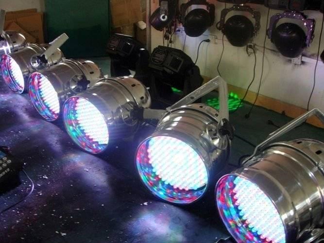 High Power LED Par Can Light RGB mixing (MagicLite) M-A023-2