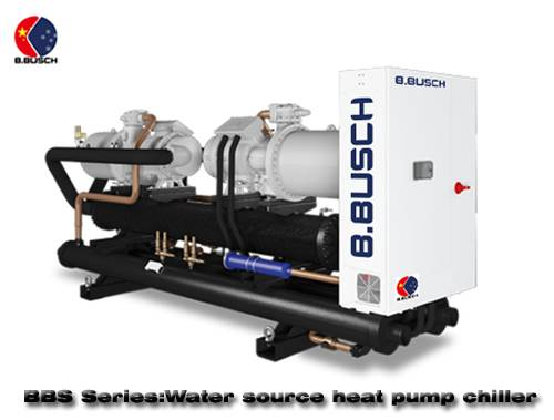 District heating BUSCH water source heat pump chiller