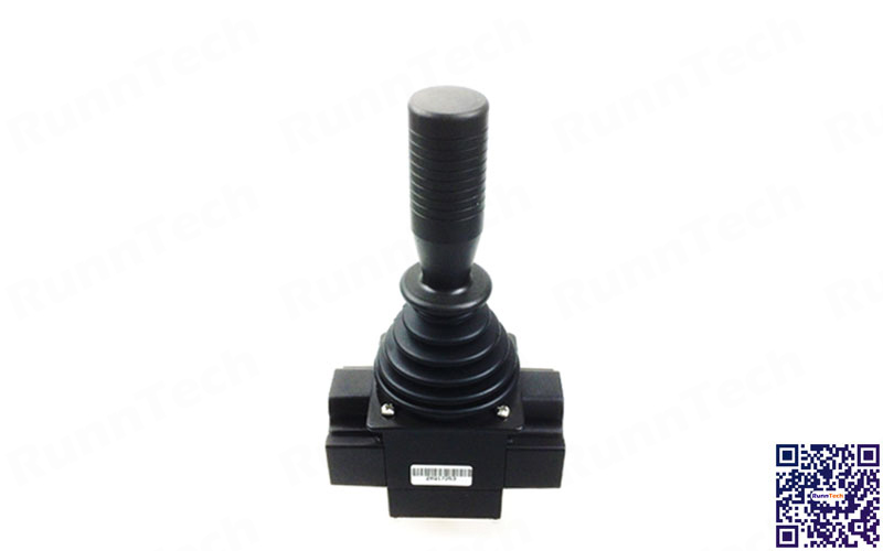 RunnTech 200 Series Dual 5V Output Friction Hold Joystick Control Lever Drilling Rig
