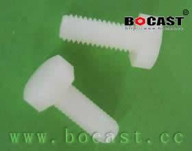 Hexagon Cap Head Plastic Screws