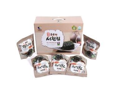 [Haealldam] Seocheon-seaweed seasoned Laver Flake
