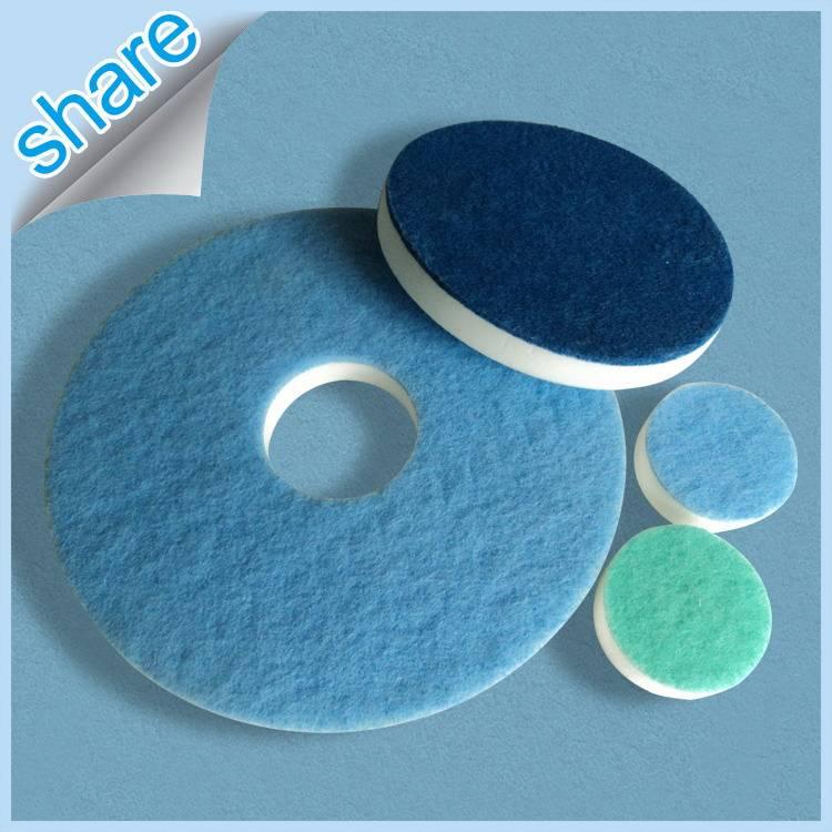 Hard-Wearing Compressed Sponge Eraser Great for Floor