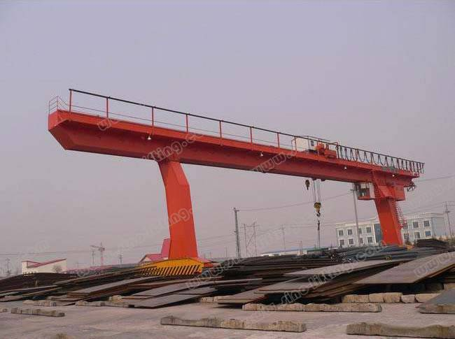 Single Main Beam Gantry Crane with Hook