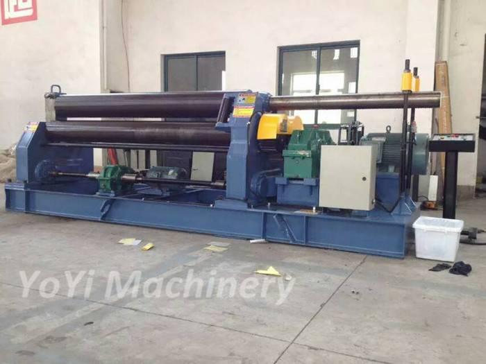 W11-202500 plate rolling machine for metal sheet bending