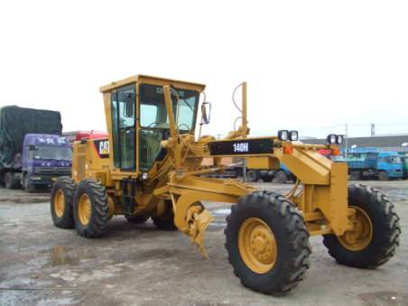Sell very good working CAT motor grader 140H