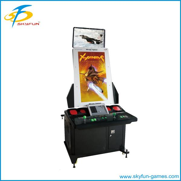 Arcade amusement fighting machine