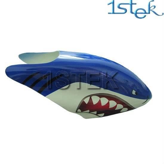 Fiber Glass Canopy for ALIGN Trex450V2 gyro shark rc helicopter